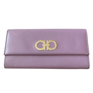 Salvatroe Ferragamo Lilac Wallet