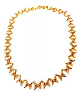 Charlotte Valkeniers Gold Vermeil Necklace