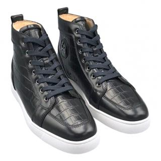 official photos 6d0fc 5db67 Christian Louboutin Multi-Print Sneakers