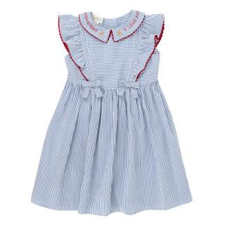 Gucci Girls 6-years 'I Love Monsters' Striped Dress