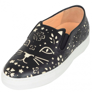 Charlotte Olympia Cool Cats slip-on trainers