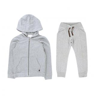 Gucci Kids 4-5 Years Grey Tracksuit Set