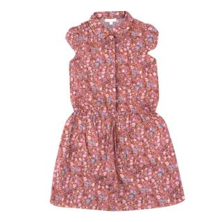 Gucci Girls 4 Years Floral Print Dress