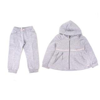 Gucci Girls 18-24 Months Grey Track Suit Set