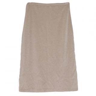 Valentino Knit Pencil Skirt