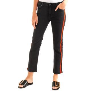 Victoria Victoria Beckham Red Trim Jeans