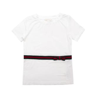 Gucci Girls 18-24 Months White Dress