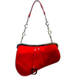 Christian Dior Vintage mini saddle bag