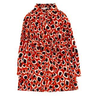 Gucci Girls 4-years Red Print Shirt Dress