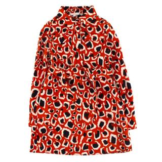 Gucci Girls 4-years Red Print Shirt Dress