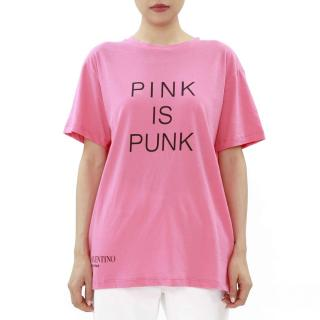 Valentino Pink Is Punk Oversize Top