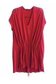 Vionnet Hydrogen Red Tunic