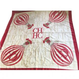 Carolina Herrera hot air balloon-print scarf
