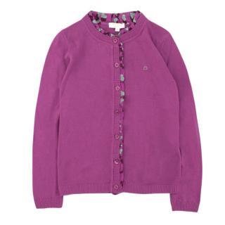 Gucci Girls' Purple Cardigan