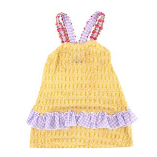 Missoni Girls 4 Years Multi-Colour Knit Dress