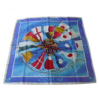 Corum Silk Nautical Scarf