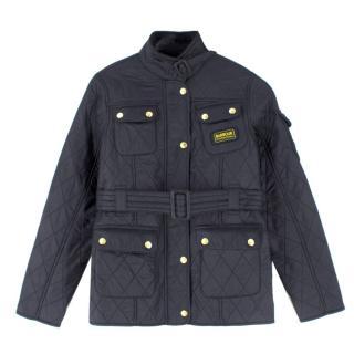 Barbour Kids Black Quilted Jacket