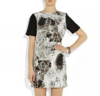Tibi Floral Print Mini Dress