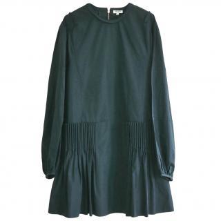 Kenzo Semi-Pleated Shift Dress