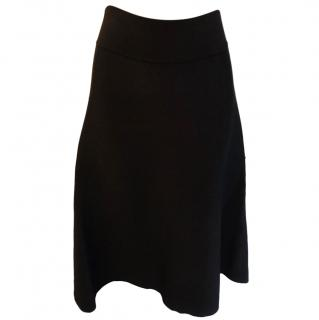 Chloe A-line knit skirt