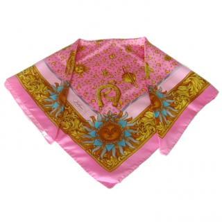 Jodphur Paris Pink Silk Scarf