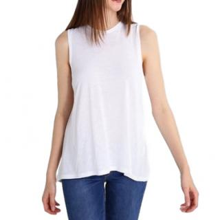 Polo Ralph Lauren White Sleeveless Top