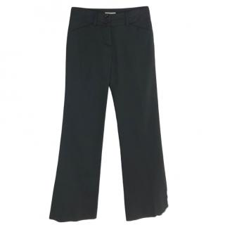 Burberry Wide Leg Tailored Trousers
