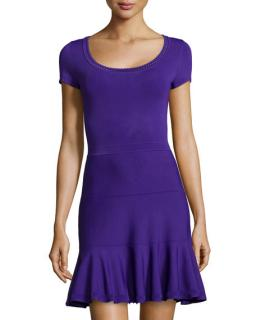 Diane von Furstenberg St. Petersburg Fit-and-Flare Dress