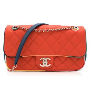 Chanel Cruise Collection Multi-Colour Flap Bag