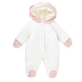 La Stupenderia Babies Light Pink Snowsuit