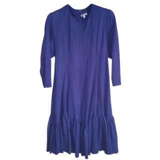 Kenzo Purple Swing Dress