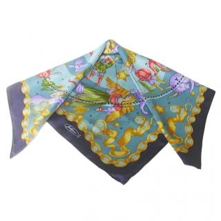 Jodphur Paris Astrology Silk Scarf