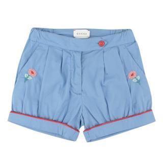 Gucci Girls Blue Shorts