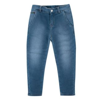 Gucci Girls Blue Soft Cotton Jeans