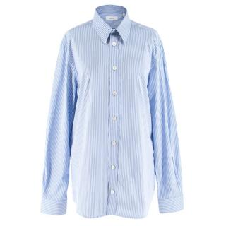 Joseph Men's Blue & White Retro Stripe Moriston Shirt