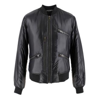 Dolce & Gabbana Men's Black Padded Jacket