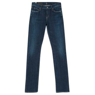 Citizens of Humanity Dark Blue Straight Leg Elson Jeans