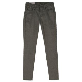 ]7 For All Mankind Gun Grey Skinny Legging Jeans