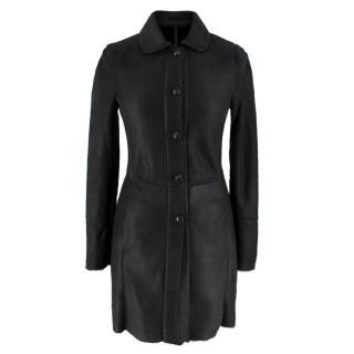 Bespoke Black Shearling Jacket