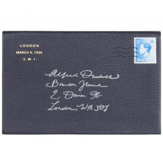 Dunhill Dark Blue Boston Envelope A6 Notebook