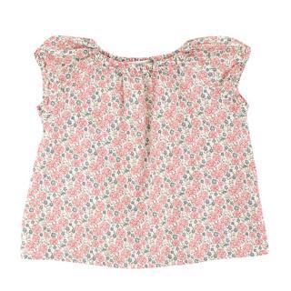 Bonpoint Girls Floral-print Cotton Dress