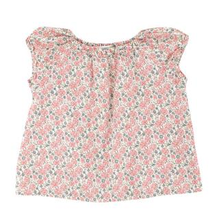 Bonpoint Girls Floral-print Cotton Dress