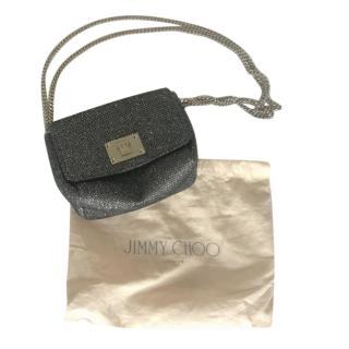 Jimmy Choo Glitter Crossbody Bag