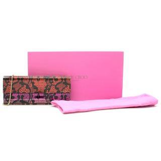 Jimmy Choo x Rob Pruitt Sweetie Lace Mirror Clutch Bag