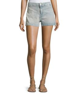 J Brand Mila Love Cat Shorts