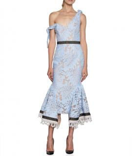 Zimmermann Blue Lace Talulah Dress