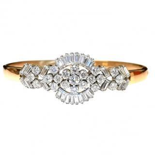 Hatton Garden 2.83ct diamond bracelet set in 18ct yellow gold