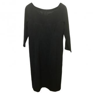 Philosophy Di Alberta Feretti Black Shift Dress