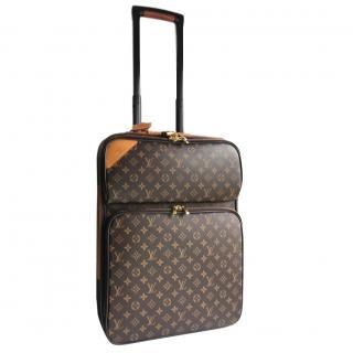 Louis Vuitton Pegase 50 wheeled travel case