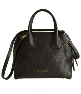 Burberry London Greenwood Bowling Bag In Black